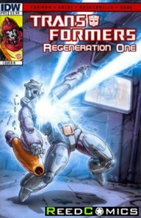 Transformers Regeneration One #93 (Cover A)