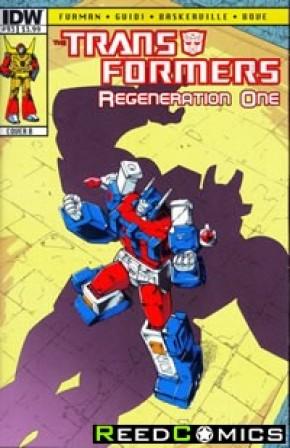 Transformers Regeneration One #93 (Cover B)