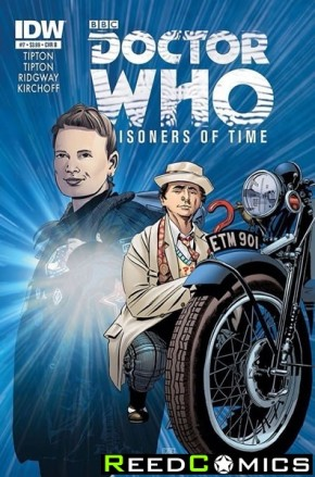 Doctor Who Prisoners of Time #7 (1 in 10 Incentive Variant Cover) *Corner Dink*