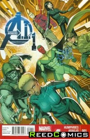Avengers AI #1