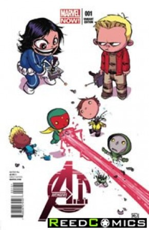 Avengers AI #1 (Skottie Young Baby Variant Cover)