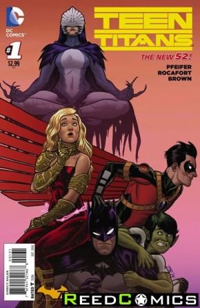 Teen Titans Volume 5 #1 (Batman 75 Variant Cover)