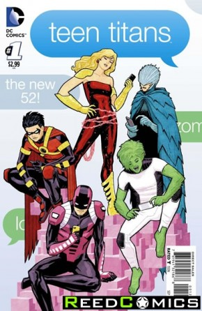 Teen Titans Volume 5 #1 (1 in 25 Incentive Variant Cover)