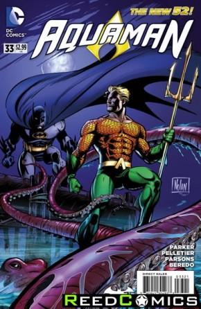Aquaman Volume 5 #33 (Batman 75 Variant Edition)