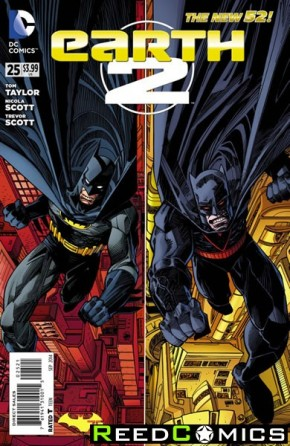 Earth Two #25 (Batman 75 Variant Edition)