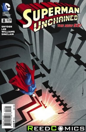 Superman Unchained #8 (1 in 25 Incentive Variant Cover)