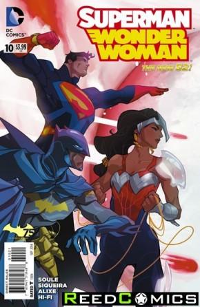 Superman Wonder Woman #10 (Batman 75 Variant Edition)