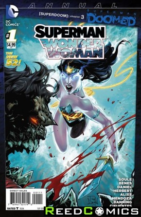 Superman Wonder Woman Annual #1