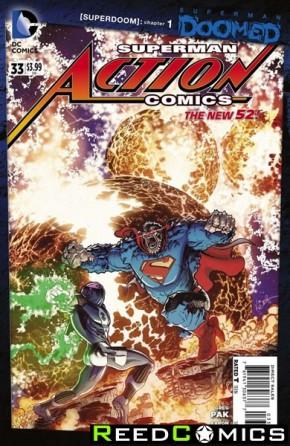 Action Comics Volume 2 #33
