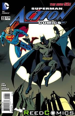 Action Comics Volume 2 #33 (Batman 75 Variant Edition)
