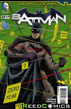 Batman Volume 2 #33 (1 in 25 Incentive Variant Cover)