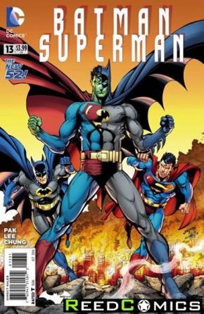 Batman Superman #13 (Batman 75 Variant Edition)