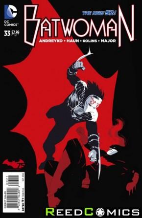 Batwoman #33 (Corner Damaged)