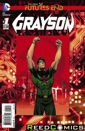 Grayson Futures End #1 Standard Cover