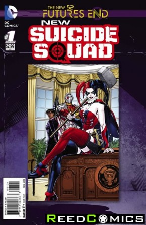 New Suicide Squad Futures End #1 Standard Edition