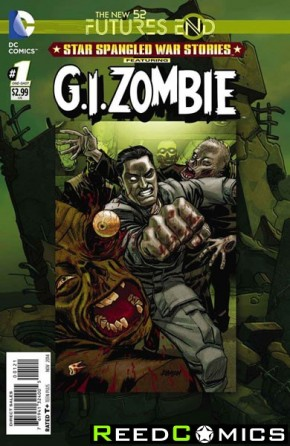 Star Spangled War Stories GI Zombie Futures End #1 Standard Edition