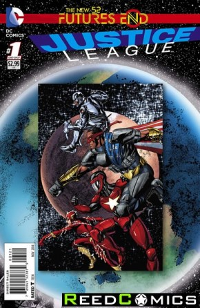 Justice League Futures End #1 Standard Edition