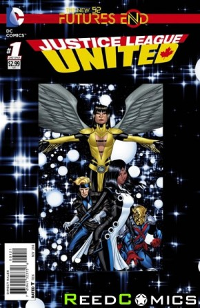 Justice League United Futures End #1 Standard Edtition