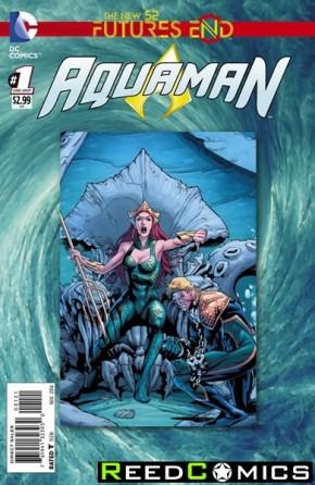 Aquaman Futures End #1 Standard Edition