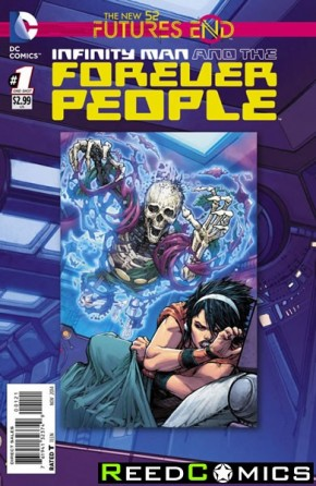 Infinity Man and the Forever People Futures End #1 Standard Edition
