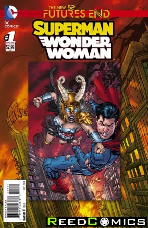 Superman Wonder Woman Futures End #1 Standard Edition