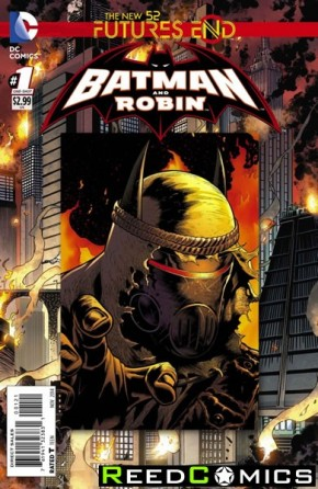 Batman and Robin Futures End #1 Standard Edition