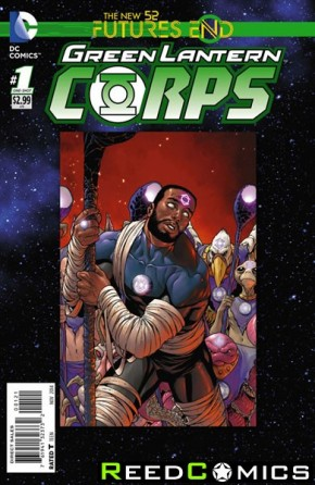 Green Lantern Corps Futures End #1 Standard Edition