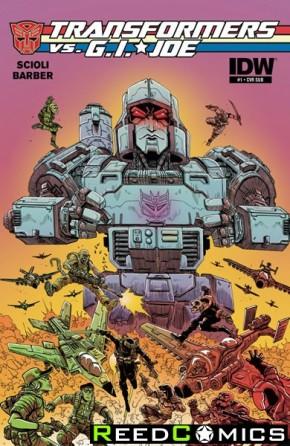 Transformers vs GI Joe #1 (Subscription Cover Variant)