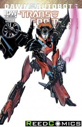 Transformers Windblade #4 (Subscription Variant Cover)