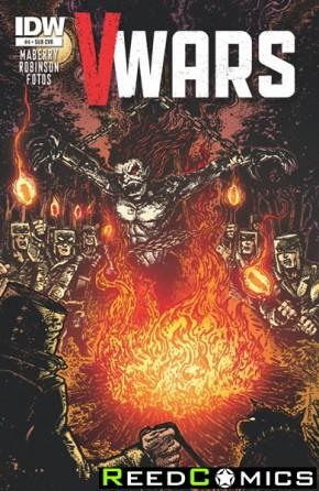 V-Wars #4 (Subscription Variant Cover)