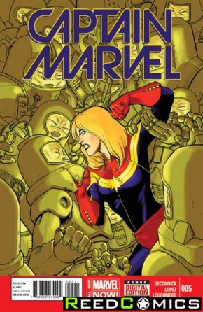 Captain Marvel Volume 7 #5