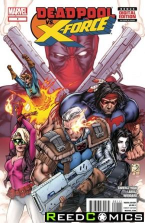 Deadpool vs X-Force #1
