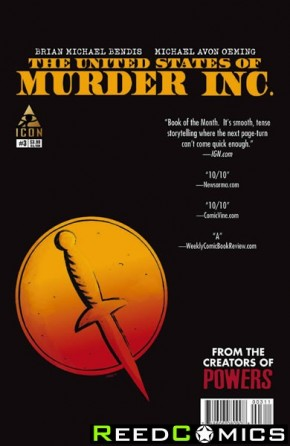 United States of Murder Inc #3