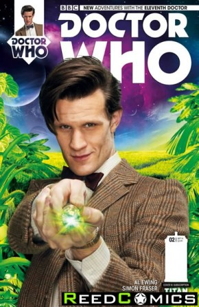 Doctor Who 11th #2 (Subscription Variant Cover)