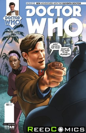 Doctor Who 11th #2 (1 in 10 Incentive Variant Cover)