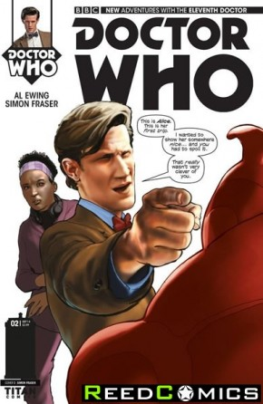Doctor Who 11th #2 (1 in 25 Incentive Variant Cover)