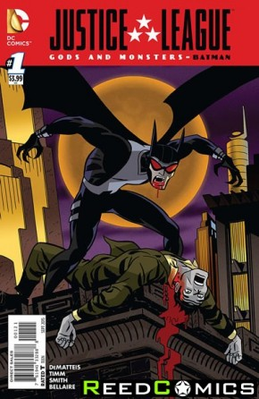 JLA Gods and Monsters Comics Batman #1 (1 in 10 Incentive Variant Cover)