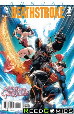 Deathstroke Volume 3 Annual #1
