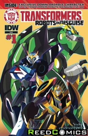 Transformers Robots In Disguise Animated #1