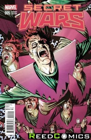 Secret Wars #5 (Coker 1 in 25 Incentive Variant Cover)