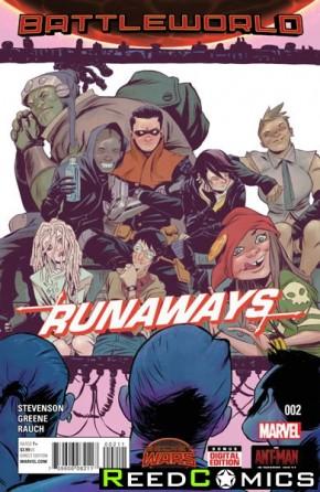 Runaways Volume 4 #2