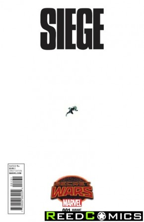 Siege Volume 2 #1 (1 in 15 Ant Sized Incentive Variant Cover)