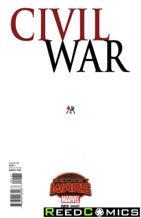 Civil War Volume 2 #1 (1 in 15 Ant Sized Incentive Variant Cover)