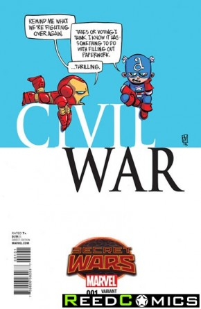 Civil War Volume 2 #1 (Skottie Young Baby Variant Cover)