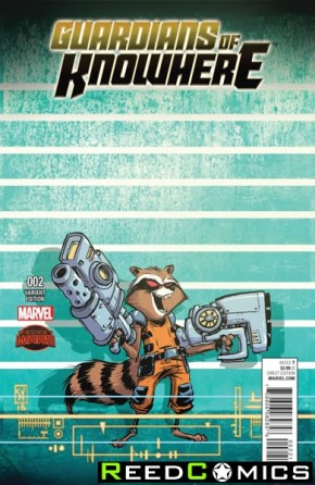 Guardians of Knowhere #2 (Skottie Young Connecting Variant Cover C)