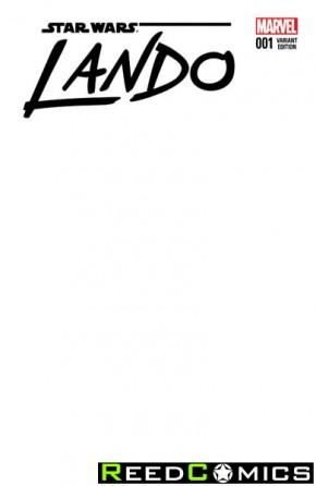 Star Wars Lando #1 (Blank Cover Variant)