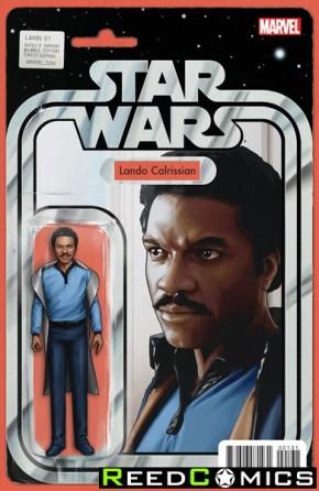 Star Wars Lando #1 (Christopher Action Figure Cover Variant)