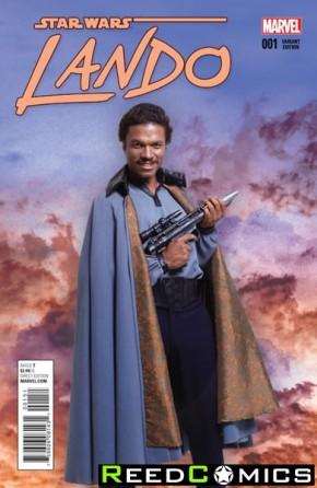 Star Wars Lando #1 (1 in 15 Movie Incentive Variant Cover)