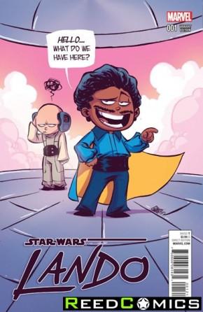 Star Wars Lando #1 (Skottie Young Baby Variant Cover)