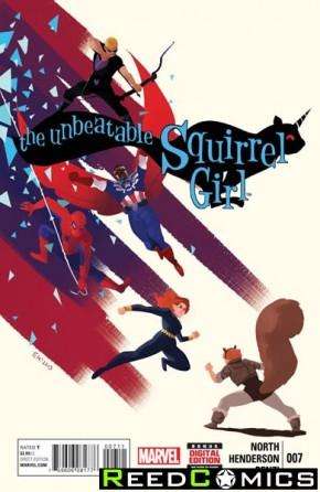 Unbeatable Squirrel Girl #7